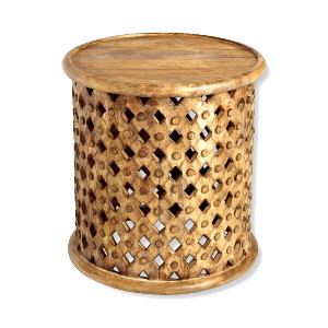 TRIBAL SIDE TABLE