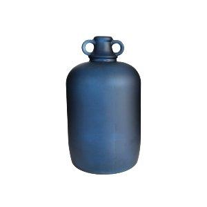 GLASS BOTTLE, BLUE