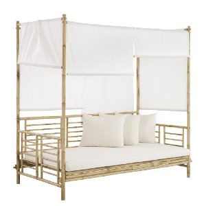 BAMBOO CANOPY DAY BED