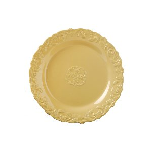 SALAD/DESSERT PLATE, ANTIQUE YELLOS