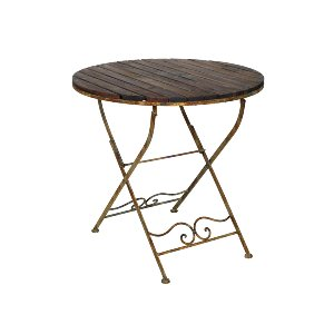 RUSTIC BISTRO TABLES, IRON