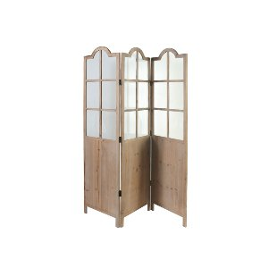 WOOD SCREEN WITH WINDOWS