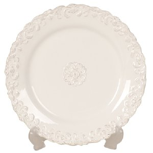 VINTAGE LACE DINNER PLATE