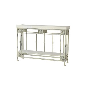 CONSOLE TABLE, WHITE