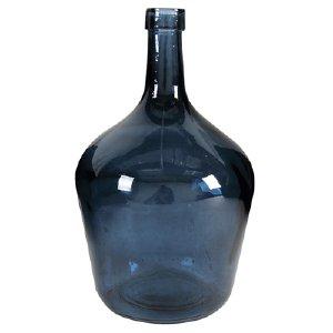 GLASS LONG NECK BOTTLE, BLUE