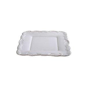 RUFFLED DINNER PLATE