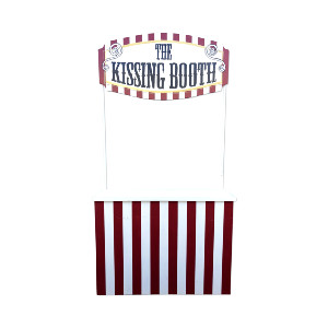 CARNIVAL BOOTH RED OPTIONAL KISSING BOOTH
