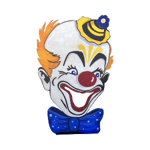 LARGE CLOWN CARNIVAL GAME