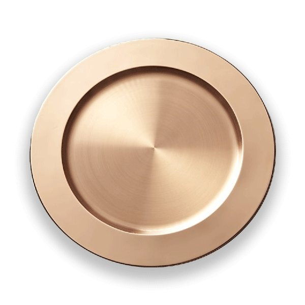 ROSE GOLD COPPER CHARGER