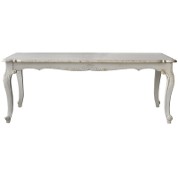 SHABBY CHIC WOOD DINING TABLE