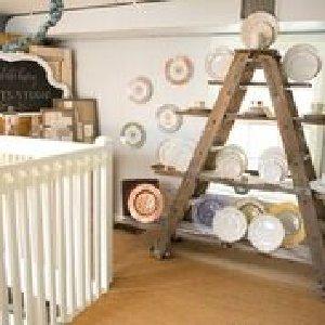 A-Frame Ladder w/ Shelves