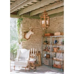 Wood & Metal Bookshelf