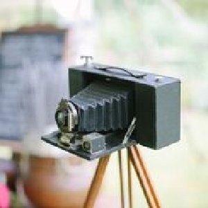 Vintage Camera w/ Tripod