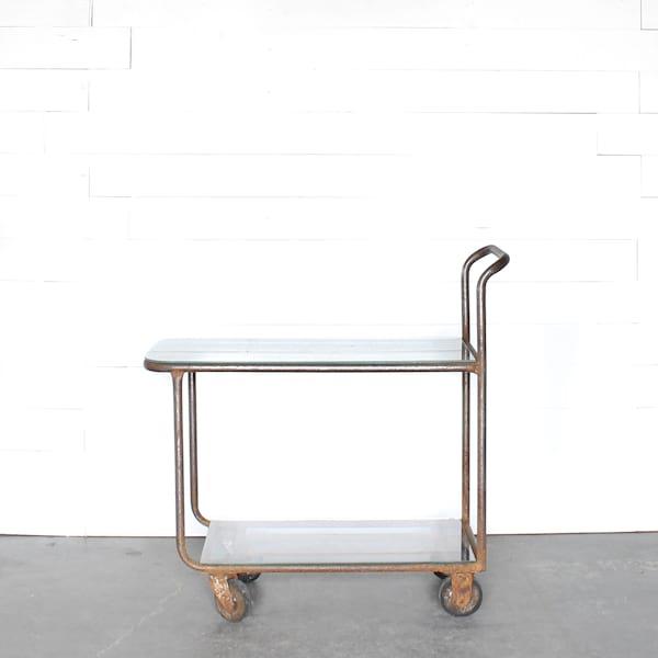 Earl Industrial Bar Cart