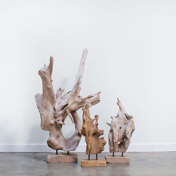 Trenton Teakwood Sculptures