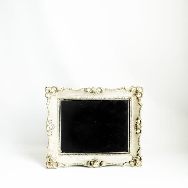 Chalkboard // Sm. Ivory Framed