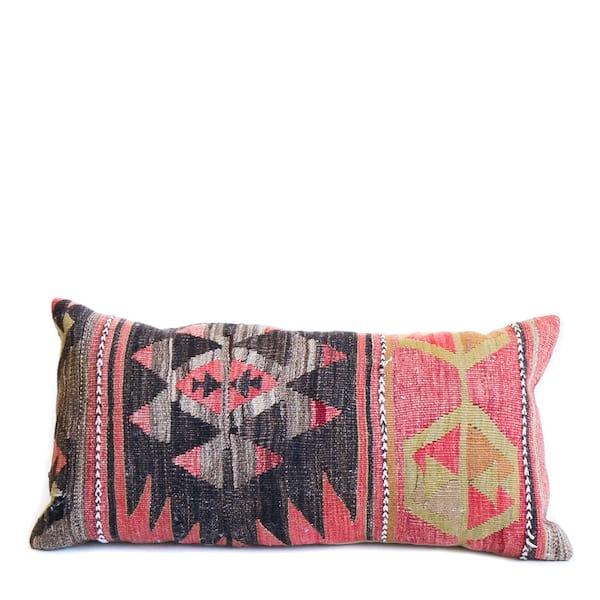 Kilim Lumbar Pillow #2