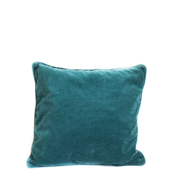 Pillow // Teal Velvet