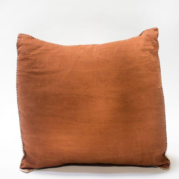 Pillow // Rust Linen (lg)
