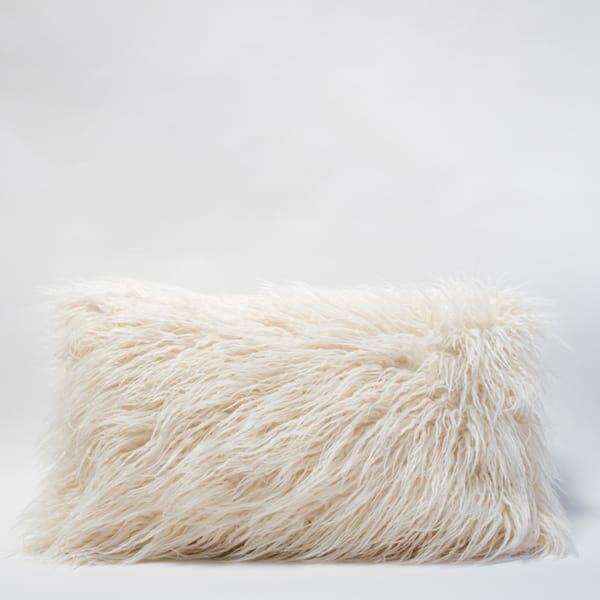 Pillow // Faux Mongolian Lumbar