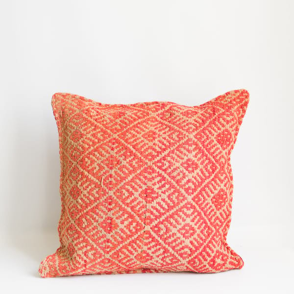 Pillow // Peruvian Coral
