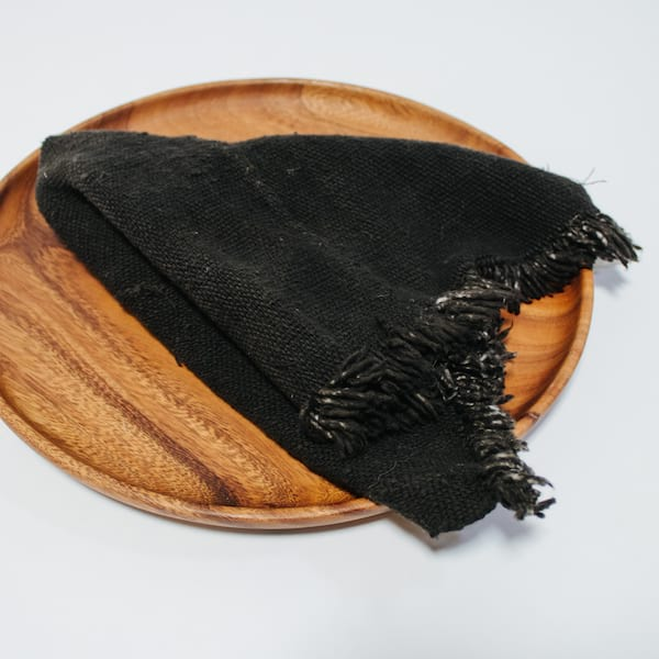 Black Mudcloth Napkins