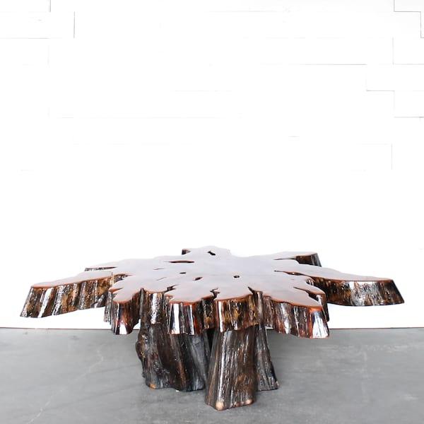 Cyrus Wood Coffee Table