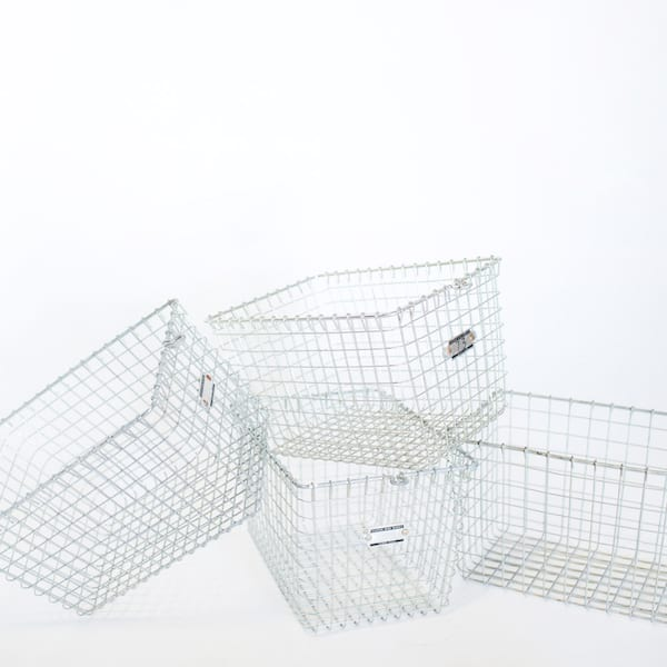 Metal Locker Basket // Wire