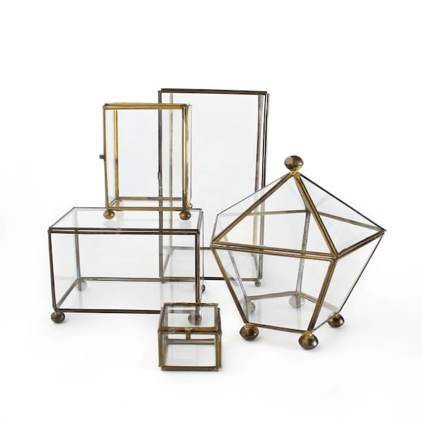 Brass + Glass Box