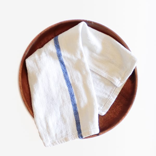 Blue Striped Napkins
