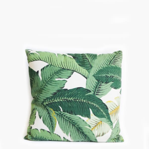 Pillow // Green Leaf