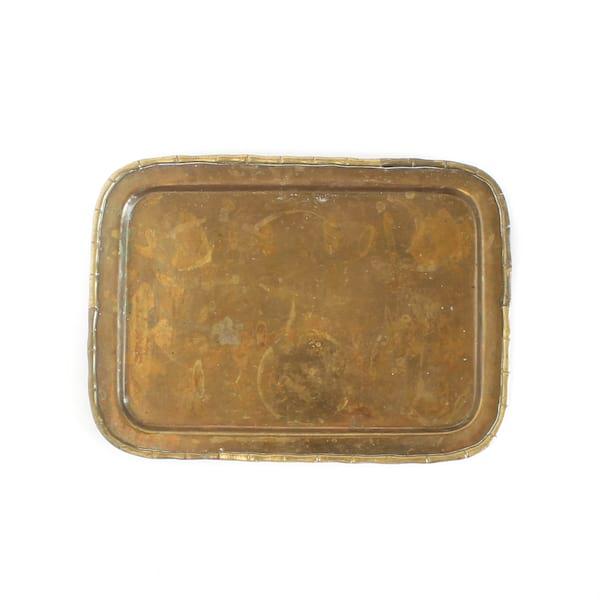 Brass Tray #1