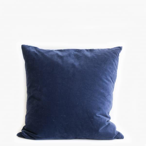 Pillow // Navy Velvet