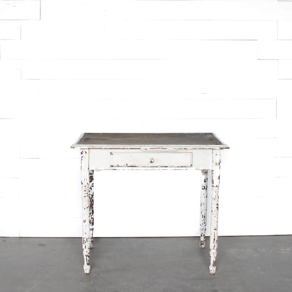 Petite White Farm Table
