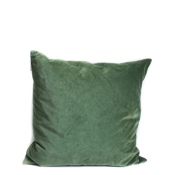 Pillow // Hunter Green Velvet