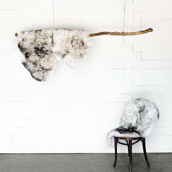 Sheepskin Rug - Gradient Grey