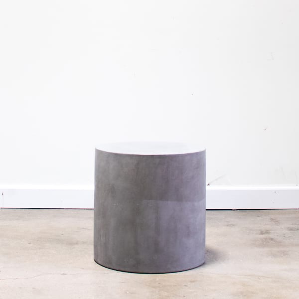 Holloway Concrete Side Table(sm)