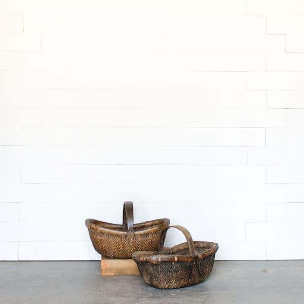 Primitive Woven Basket