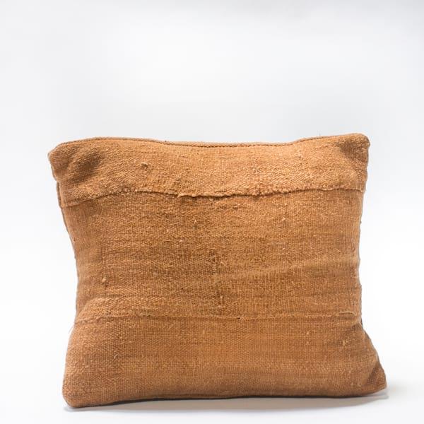 Pillow // Rust Mudcloth (sm)