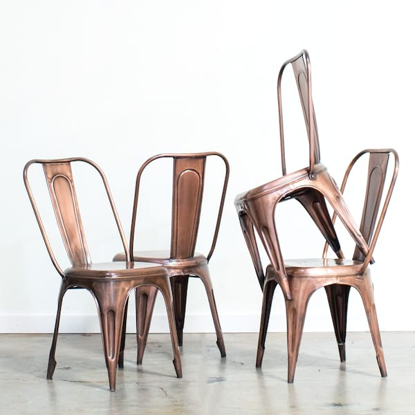 Bronze Tolix Chair