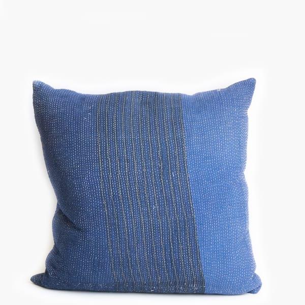Pillow // Indigo Kantha (lg)