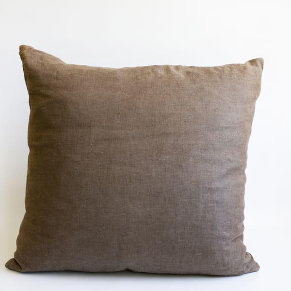 Pillow // Latte Linen