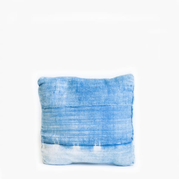 Pillow// Indigo Mudcloth