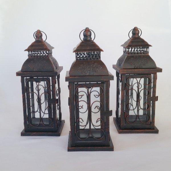 Antique Square Lanterns
