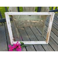 Reclaimed White Window Frame