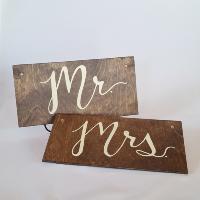Mr. Mrs. Sign