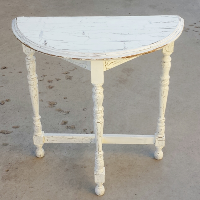 Table, White End