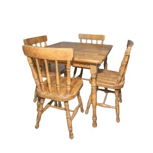 Rosie Wooden Children's Table Set