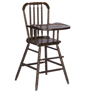 Morgan Natural Wood High Chair