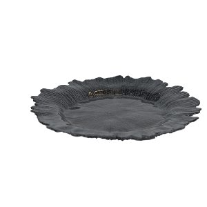 Black Coral Reef Charger